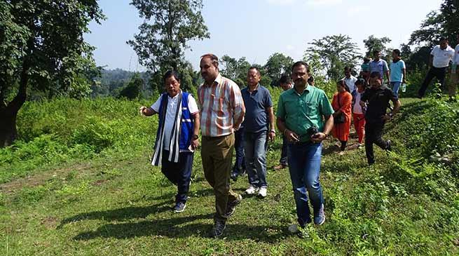 Ravinder Gaur visits CBSD and RTC Sites
