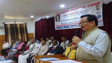 Photo of Itanagar; Don Bosco Alumni organises free mega medical camp