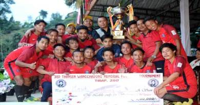 HAWK-16­­­­­ FC Wins 3rd Thansen Wanchadong Memorial Football 2017