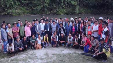 Photo of Pare River Angling Tournament held at Papum Pare
