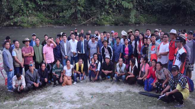 Pare River Angling Tournament held at Papum Pare