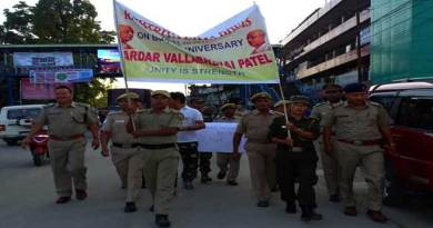 Arunachal- Rashtriya Ekta diwas celebrated across the state
