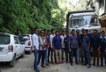 """Rasta Roko"" on Itanagar-Jote road continue"