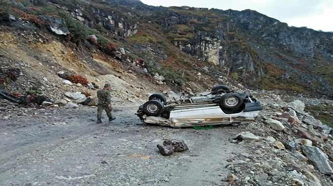 Tawang- Tourists from Kolkata killed in a road accident