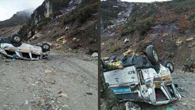 Photo of Tata Sumo Road Accident; Khandu expresses deep shock over death of Tourists
