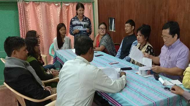 Arunachal Pradesh Literary Society held literary sitting