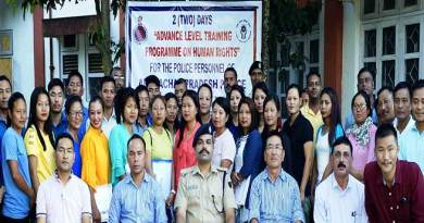 Arunachal Police organises Advanced Training Course on Human Rights