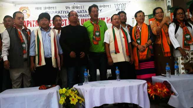 BJP Capital district and Mandal Unit Executive Meeting held