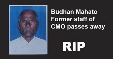 Budhan Mahto, Former staff of CMO passes away