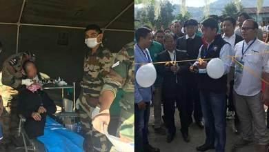 Photo of Tashi inaugurates two days mega health camp at Kamba