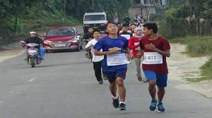 Mini Marathon for ensuing Doimukh festival