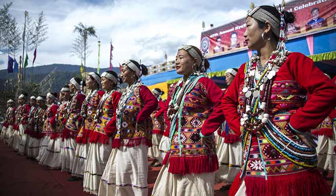 Pema Khandu attends Neythrii Dow festival of Hrusso community