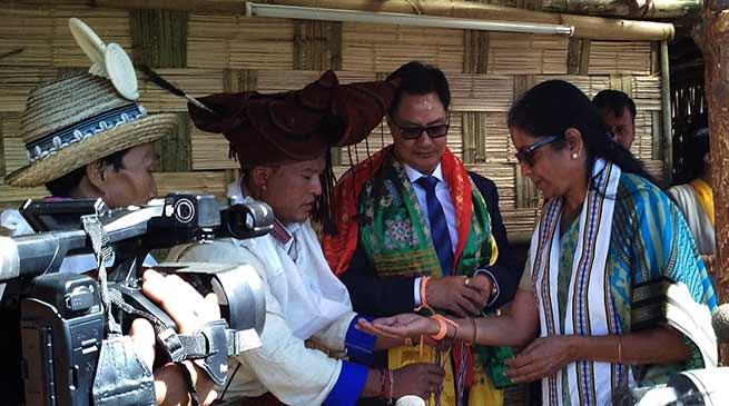 Bomdila- Nirmala Sitharaman inaugurates Buddha Mahotsav