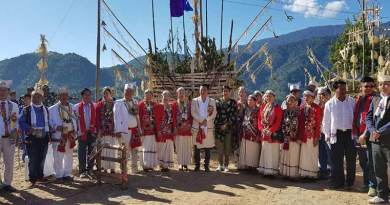 Bomdila- Nyetridow festival of Aka community begins