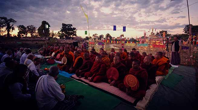 Namsai- Tai communities welcomes Pee Mau Tai with gusto