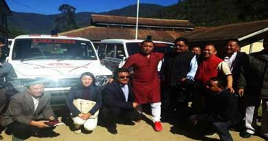 Phurpa Tsering appeal the party workers to work for development of area