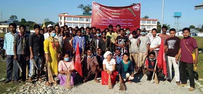 "Locals organises ""Swachh Namsai Abhiyan"""