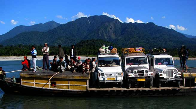 IWAI officials Survey Dibang and Siang Rivers