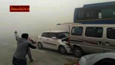 Yamuna Express- Several Cars Collide due to Smog
