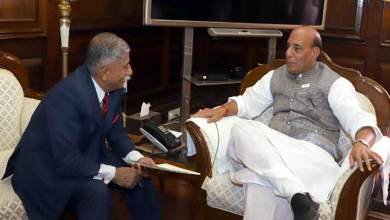 Governor Discusses Recruitment of Arunachal youth in Assam Rifle with Rajnath