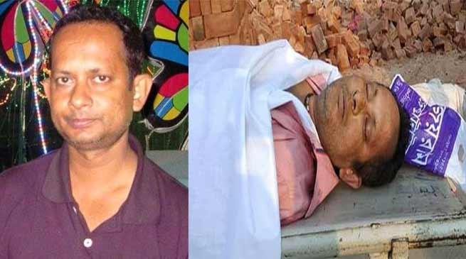 Agartalla- journalist Sudeep Dutta Bhaumik Shot Dead