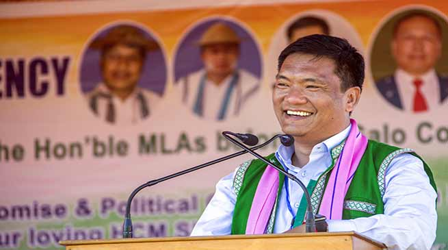 Khandu gives go-ahead for creation of Lepa Rada district
