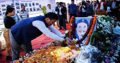 CM Pema Khandu attends Funeral of Ngurang Pinch