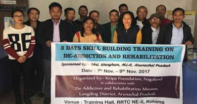 Medical staffs to go on training on De-addiction to Nagaland