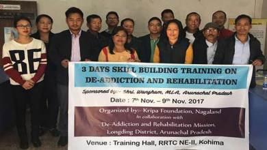 Photo of Medical staffs to go on training on De-addiction to Nagaland