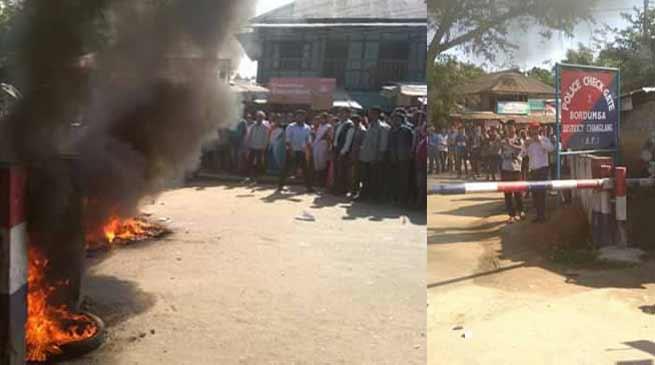 Bordumsa- Tension in Arunachal - Assam border after a Custodial death