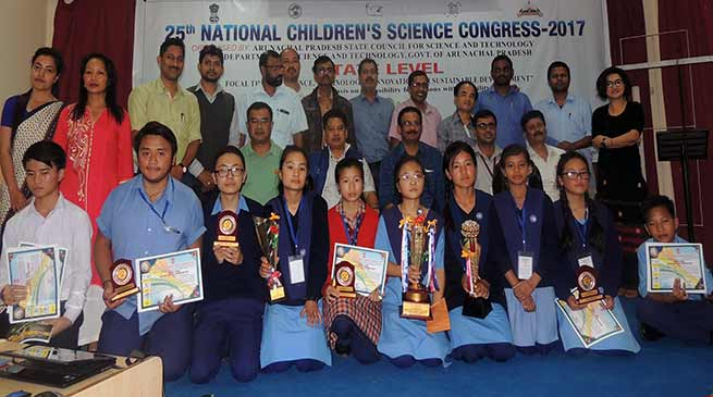 10 students scientist selected for 25th national children science congress