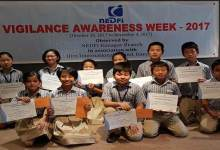 Photo of NEDFI organises Vigilance Awareness Week at HIM International School, Jully