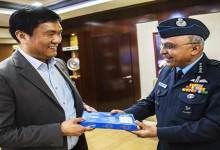 Photo of Air Marshal Anil Khosla Calls on Arunachal CM Pema Khandu