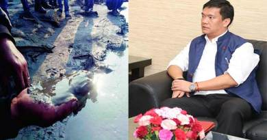 Cause of Siang water turns muddy is in China- Pema Khandu