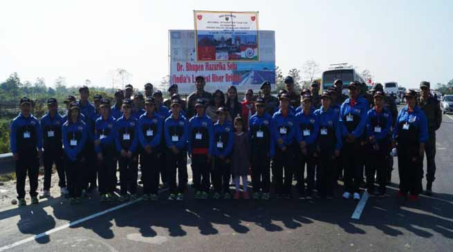 Arunachal: Army Flags off  National Integration Tour for the Children of Dibang Valley