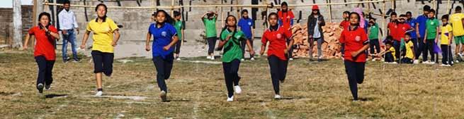 Bhalukpong: Sports meet of Navjyoti English School begins