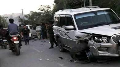 Photo of Massive Traffic Jam between Itanagar-Naharlagun after an road accident