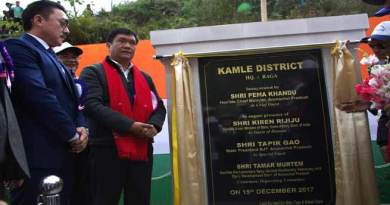 "CM Khandu inaugurates  Arunachal's 22nd district "" Kamle"""