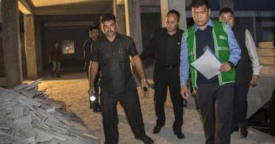 Yingkiong- Khandu Inspects under construction 50-bedded district hospital