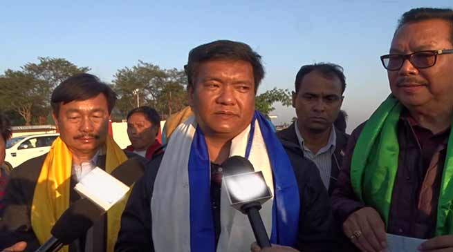Arunachal: CM Pema Khandu says, no political crisis in the State