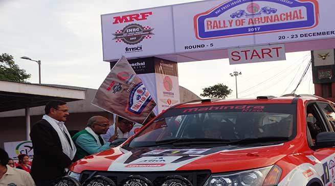 "CS Satya Gopal flags off ""Rally of Arunachal"""