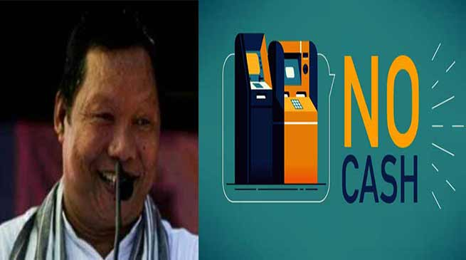 Congress expresses concern about NO CASH in ATMs