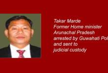 Former Arunachal minister arrested for obstructing traffic police