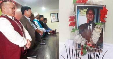 Arunachal: BJP Pays flora tribute to Professor Pura Tado