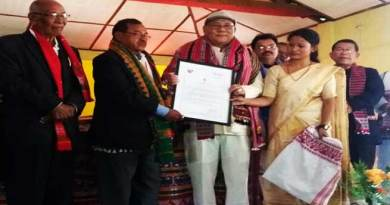 Arunachal: Yeshi Dorjee Thogchi received another Sahitya award