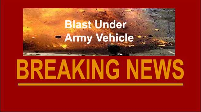 Arunachal: Insurgents trigger blast under army vehicles, no casualty