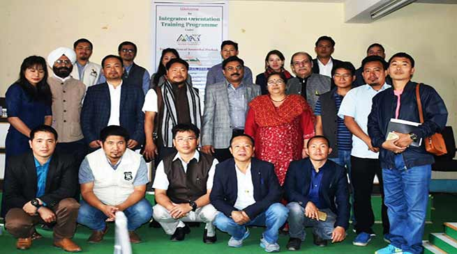 Arunachal: Capacity building programme for IMC Officials