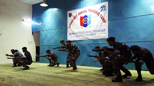Itanagar: Combined Annual Training Camp of NCC concludes