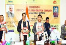 Photo of Arunachal: Khandu launches Measles-Rubella (MR) vaccination campaign
