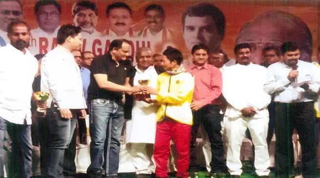 Team Arunachal participated in under-19 National cricket Championship in Hydrabad